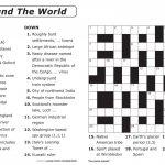 Coloring ~ Coloring Free Large Print Crosswords Easy For Seniors   Thomas Joseph Crossword Printable Version