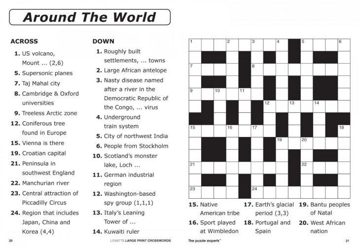 Thomas Joseph Crossword Printable Version