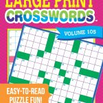 Coloring ~ Large Print Crosswords Coloring Dailythomas Joseph   Print Crossword Puzzle Book