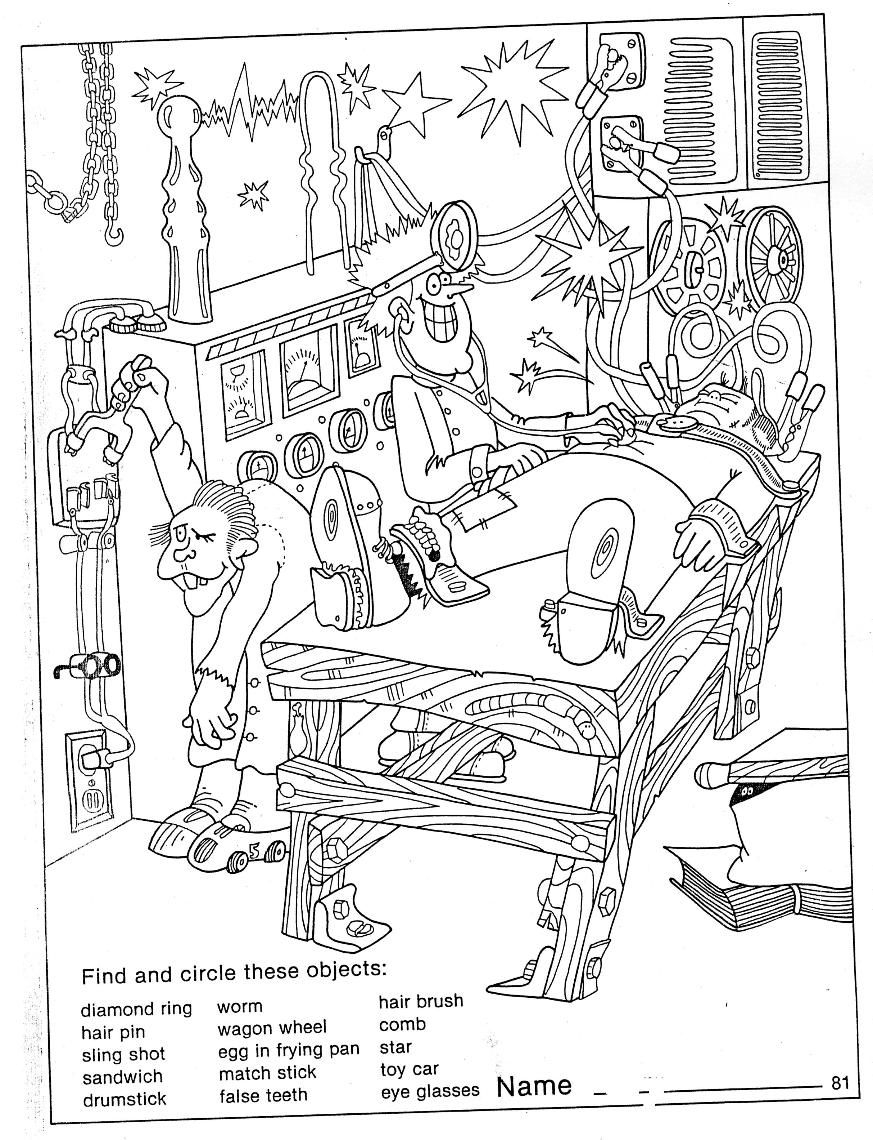 Coloring Page ~ Halloween Hidden Picture Printableee Best Images Of - Printable Hidden Object Puzzles For Adults