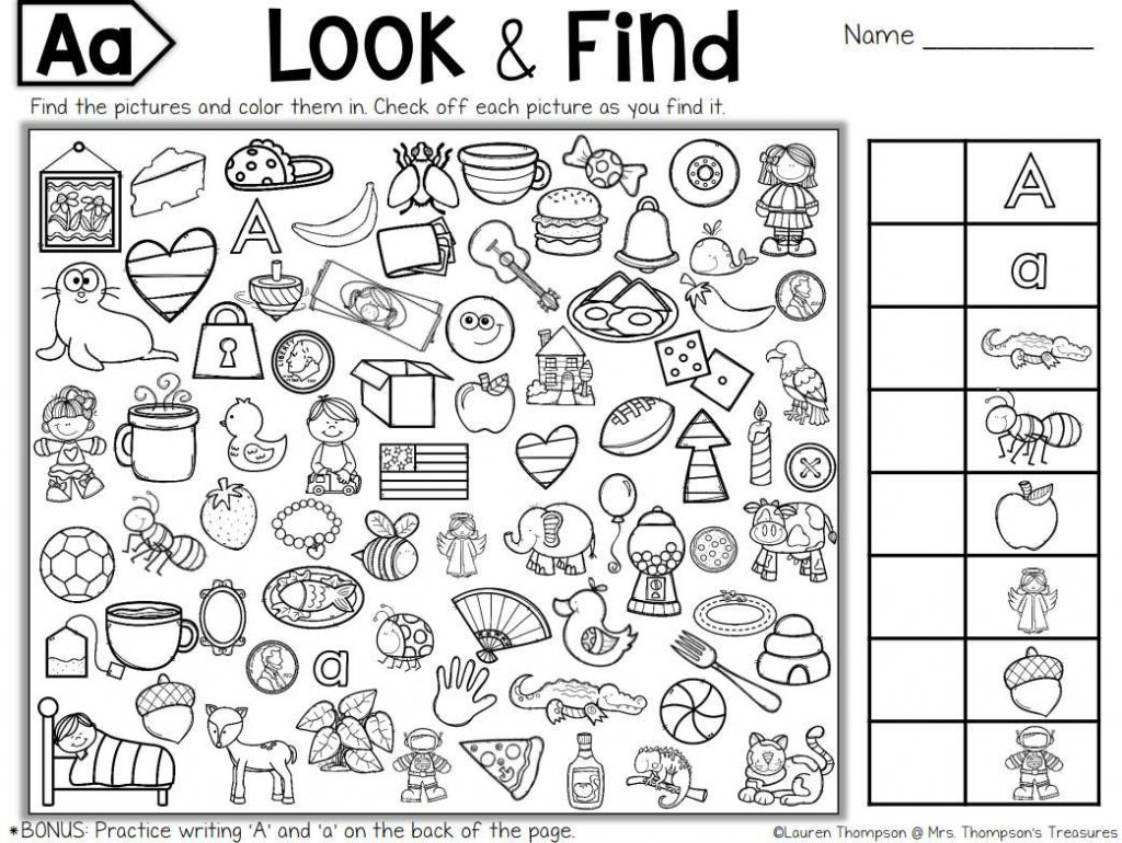 Coloring Page ~ Hidden Picture Coloring Pages Letters Awesome Free - Printable Puzzle Coloring Pages