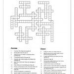 Crossword   Let Me Introduce Myself | Crosswords | Crossword   Crossword Puzzles Vocabulary Printable