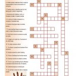Crossword On Bullying | Crossword On Bullying | Bullying Worksheets   Respect Crossword Puzzle Printable