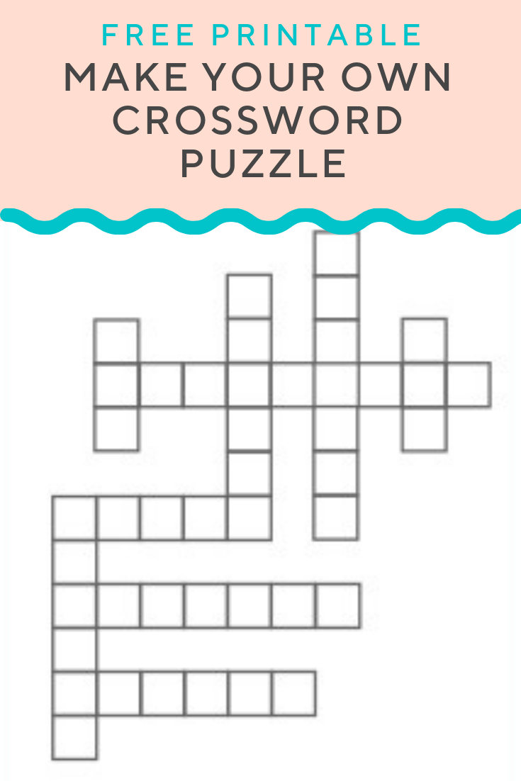 Crossword Puzzle Generator   Create And Print Fully Customizable - Create A Crossword Puzzle Free Printable