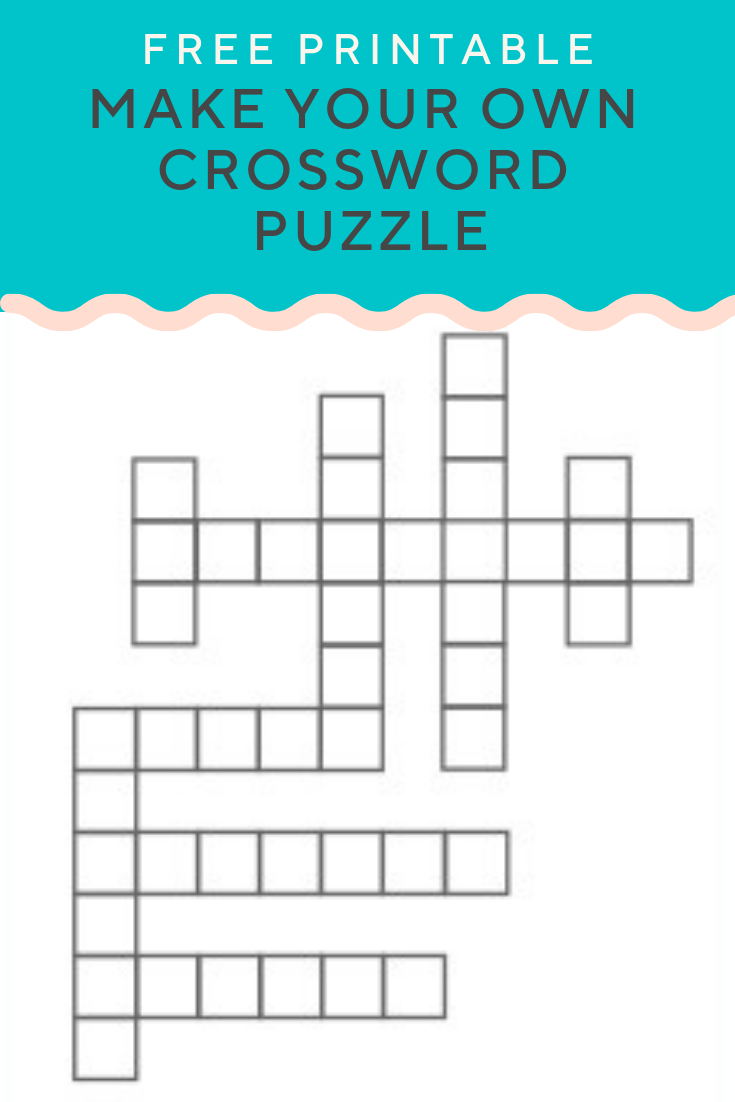 Crossword Puzzle Generator | Create And Print Fully Customizable - Create Crossword Puzzle Printable