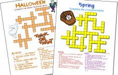 Free Printable Crossword Puzzle Maker Download