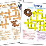Crossword Puzzle Maker | World Famous From The Teacher's Corner   Printable Crossword Template Free