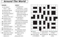 Printable German Crosswords