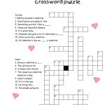 Crossword Puzzles For Kids   Best Coloring Pages For Kids   Printable Crossword Puzzles About Love