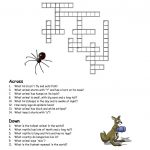 Crossword Puzzles Kids Animal | Work It | Crossword, Puzzle   Printable Crossword Puzzles About Animals