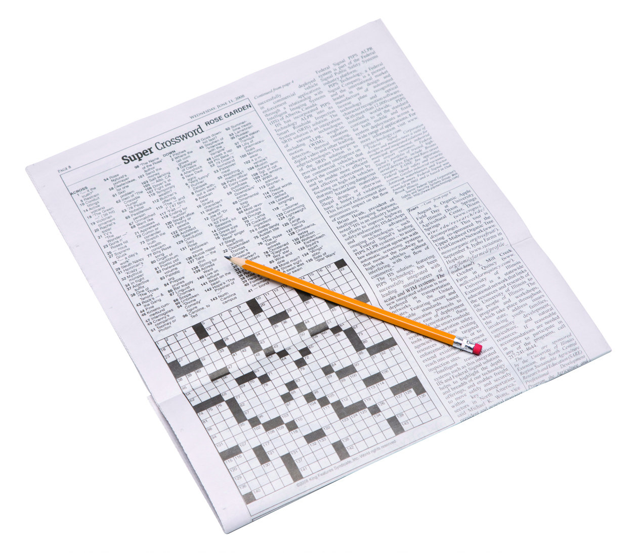 Crossword Puzzles Originated In The Early 1900S, Were Originally - Printable Crossword Metro