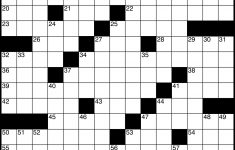 Crossword – Wikipedia – Printable Diagramless Crossword Puzzles