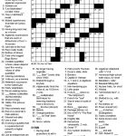 Crosswords: Algebra   Printable Crossword Nytimes