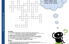 Printable Crossword Puzzles With Word Bank