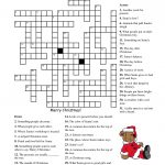 Crosswords For Kids Christmas | K5 Worksheets | Christmas Activity   Christmas Crossword Puzzle Printable With Answers