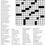 Crosswords Onlyagame Large Printable Crossword Puzzle   Free Printable Crossword Puzzle Template
