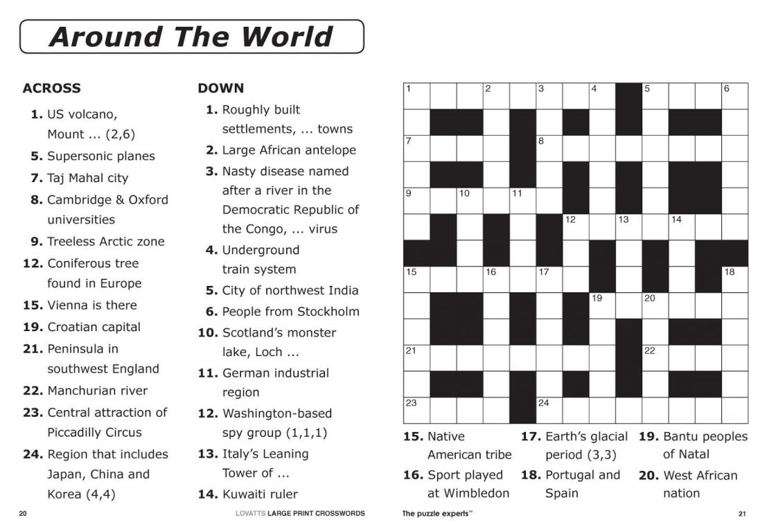 Crosswords Printable Crossword Puzzle Maker Online Free To Print - 7 Printable Crosswords