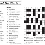 Crosswords Printable Crossword Puzzle Maker Online Free To Print   Free Printable Crossword Puzzle Creator