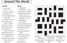 Free Printable Crossword Puzzle Template