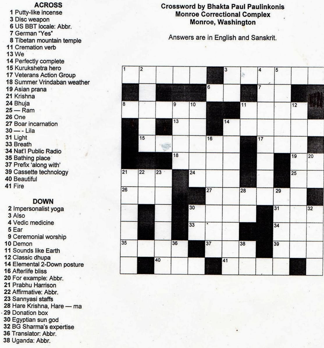 Crosswords Printable Crossword Puzzles For Middle School Puzzle - Free Printable Crossword Puzzles High School