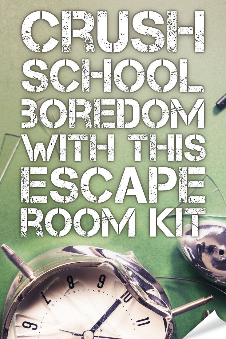 Crush Classroom Boredom With This Hack. | Middle School Language - Printable Escape Room Puzzle