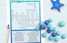 Free Printable Bridal Shower Crossword Puzzle
