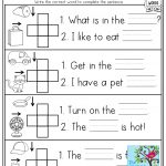 Cvc Crossword Puzzles For Beginning Readers And Simple Sentences   Printable Reading Puzzles