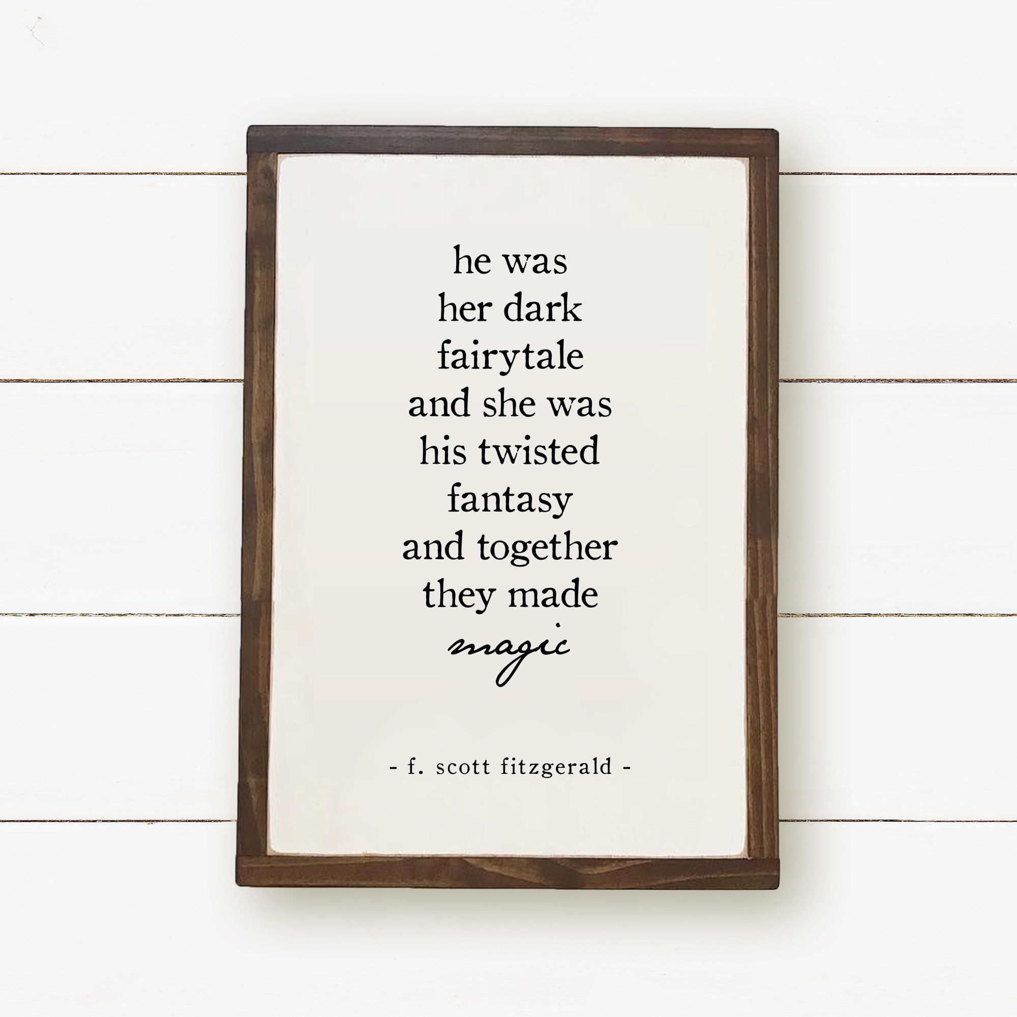 Dark Fairytale Twisted Fantasy Art Print Quote Print F. | Etsy - Printable Quotefall Puzzles Free