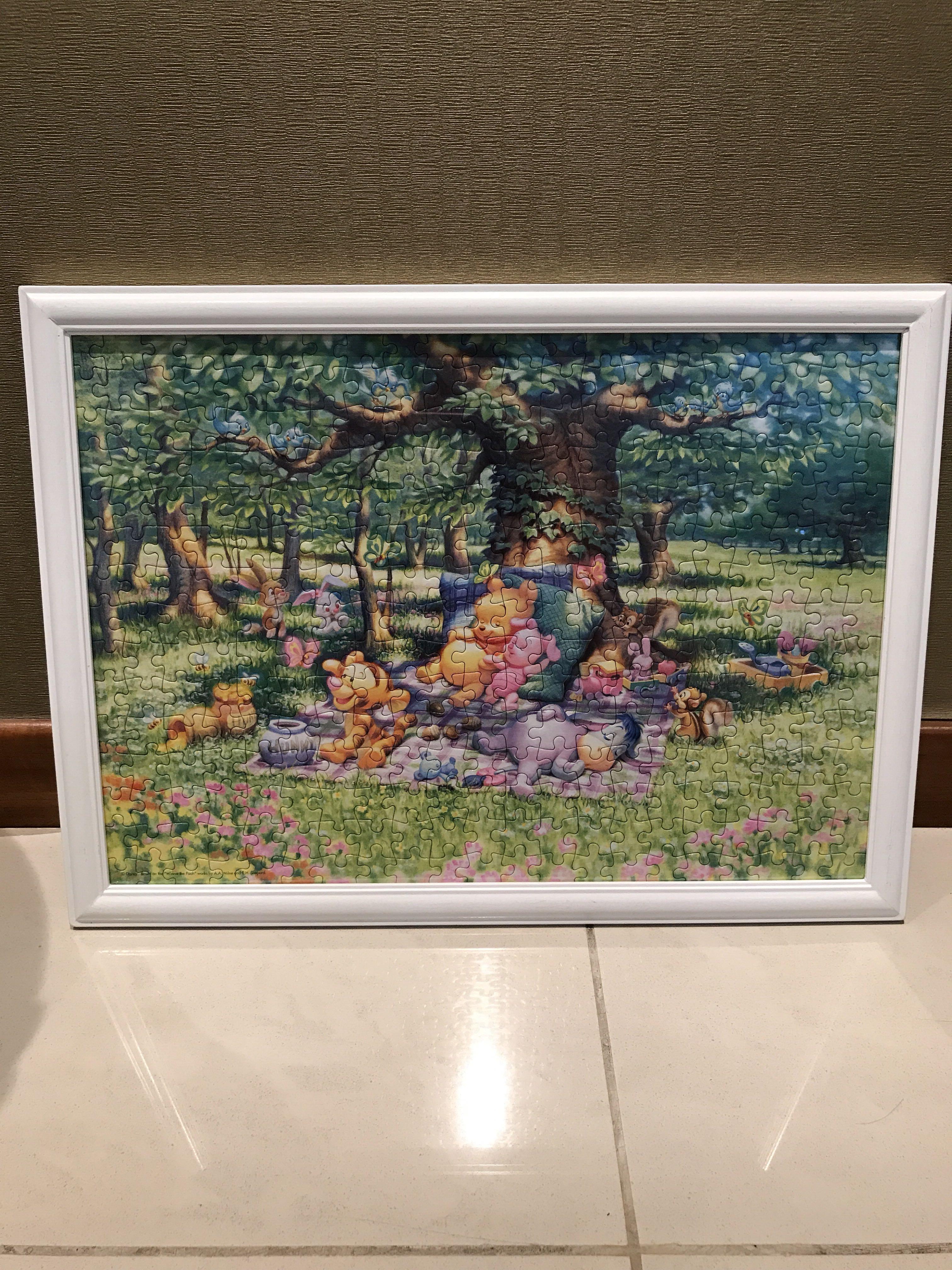 Disney Winnie The Pooh Jigsaw Puzzle, Design & Craft, Art & Prints - Print Jigsaw Puzzle Singapore