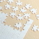 Diy A4 Blank Dye Sublimation Printable Jigsaw Puzzle For Heat Press   Printable Diy Puzzle
