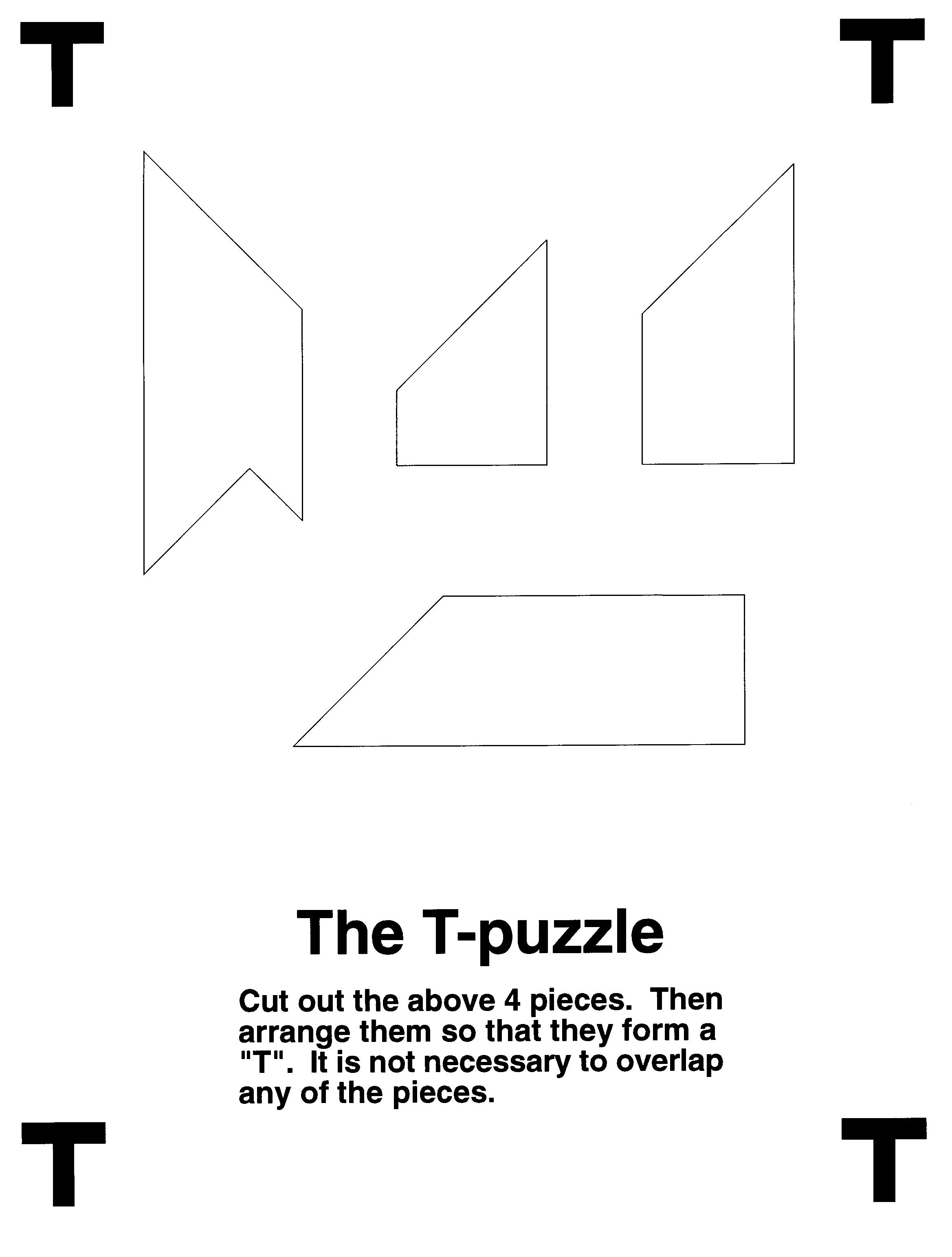 Diy Puzzles   Puzzles.ca - T Puzzle Printable