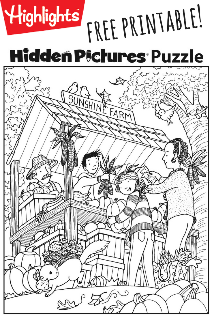 Download This Festive Fall Free Printable Hidden Pictures Puzzle To - Printable Hidden Puzzle Pictures