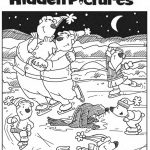 Download This Free Printable Winter Hidden Pictures Puzzle To Share   Printable Winter Puzzle