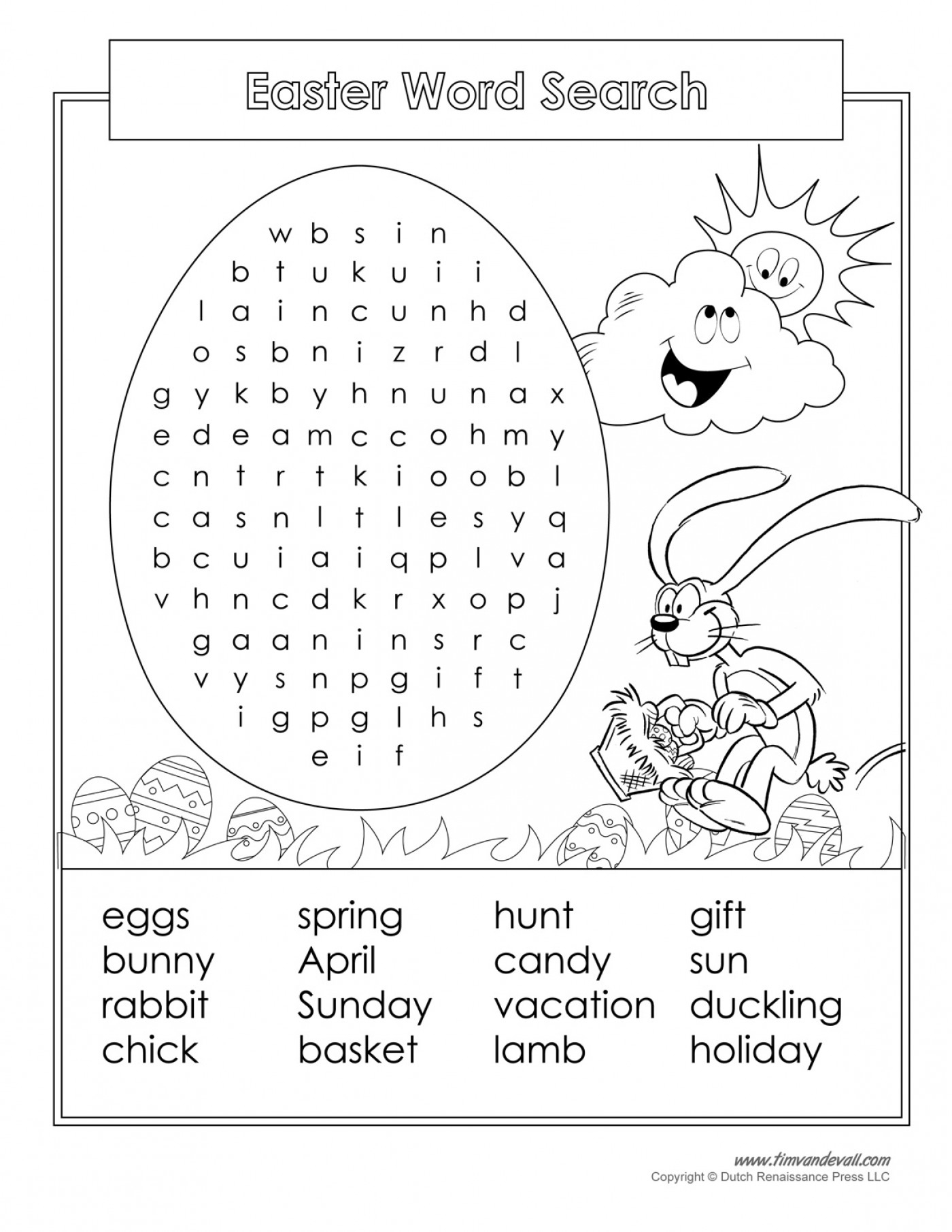 Easter Crossword Puzzle Printable Crosswords Free Word - Free - Printable Easter Crossword Puzzles For Adults