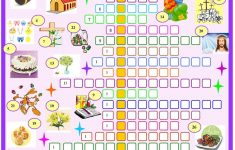 Printable Crossword Puzzles For Easter