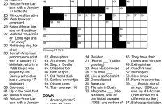 Printable Celebrity Crossword Puzzles