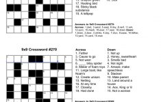Printable Crosswords Grade 3