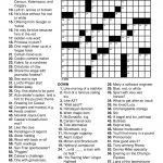 Easy Printable Crossword Puzzels   Infocap Ltd.   Printable Automotive Crossword Puzzles
