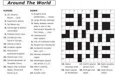 Free Printable Easy Crossword Puzzles