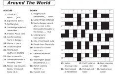 Printable Crossword P