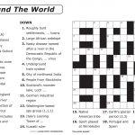 Easy Printable Crossword Puzzles | Elder Care & Dementia Care   Printable Crossword Puzzles Big