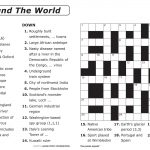 Easy Printable Crossword Puzzles | Elder Care & Dementia Care   Printable Puzzles For Older Adults