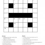 Easy Printable Crossword Puzzles | Freepsychiclovereadings   Printable Beginner Crossword Puzzles