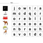 Easy Printable Word Searches With Pictures! Lots Of Other Free – Printable Puzzles In English