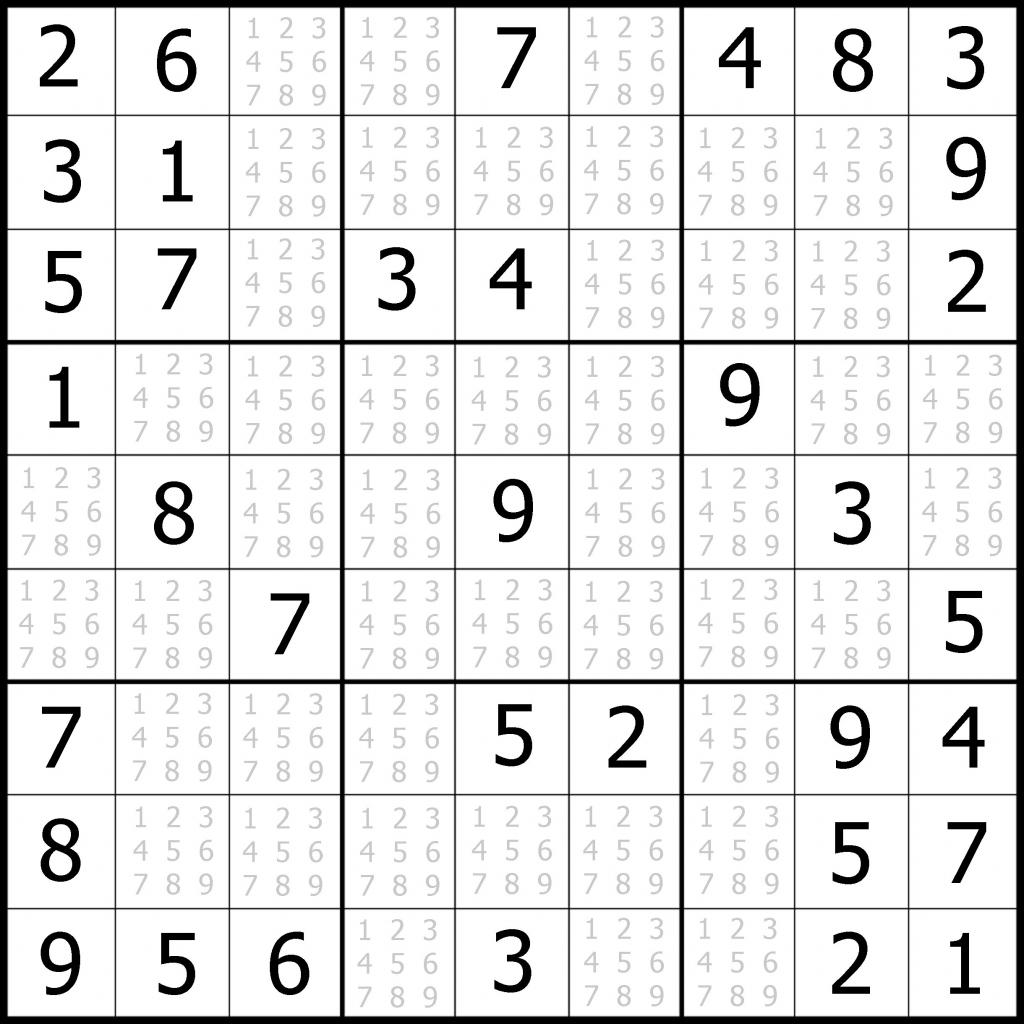 Easy Sudoku Printable | Kids Activities | Printable Sudoku Printable - Printable Sudoku Puzzles Easy #1
