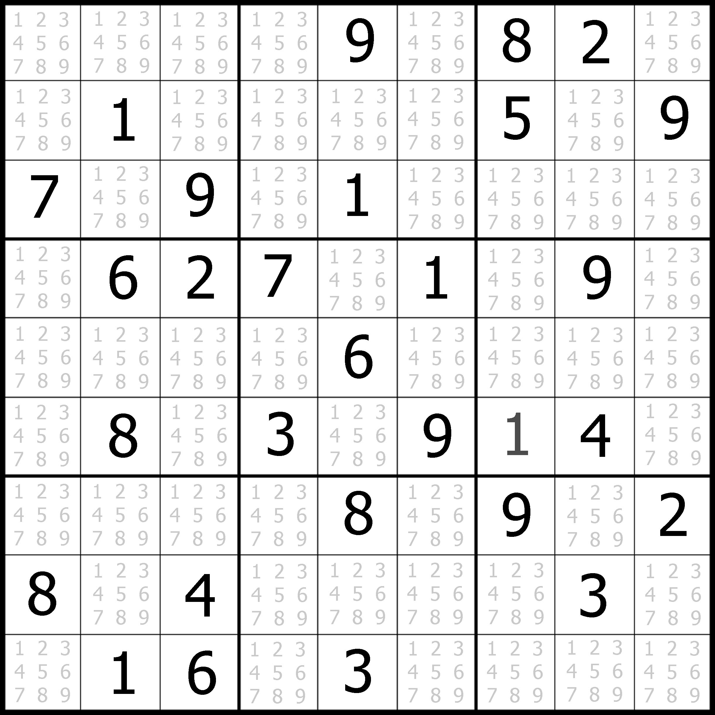 Easy Sudoku Printable | Kids Activities - Printable Sudoku Puzzles Online