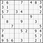Easy Sudoku Puzzles To Print Free Example Easy Sudoku For You   Printable Sudoku Puzzles For Beginners