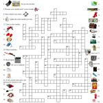 Emergency Car Kit Crossword Puzzle | Self Sufficiency | Emergency   Printable Crossword Puzzle First Aid