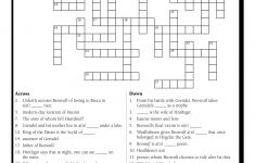 English Teacher's Free Library | Prestwick House – Literature Crossword Puzzles Printable