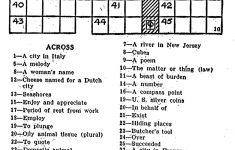 Printable Crossword Puzzles Eugene Sheffer